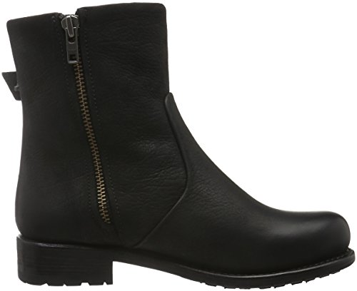 Blackstone Ladies Mw63 Short Boots Black (nero)