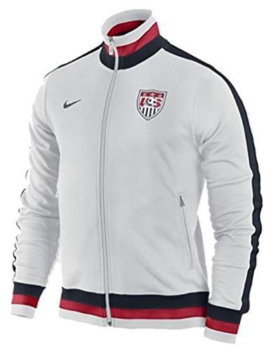 Nike White Woven Jacket - 8