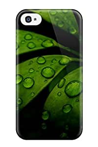 Fashionable Style Case Cover Skin For Iphone 4/4s- Fresh Tropical Leaves