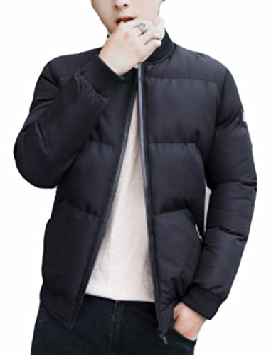Coat Down Winter Warm Puffer Jacket Outwear today Mens Padded Black UK 0nqgxwCwOZ