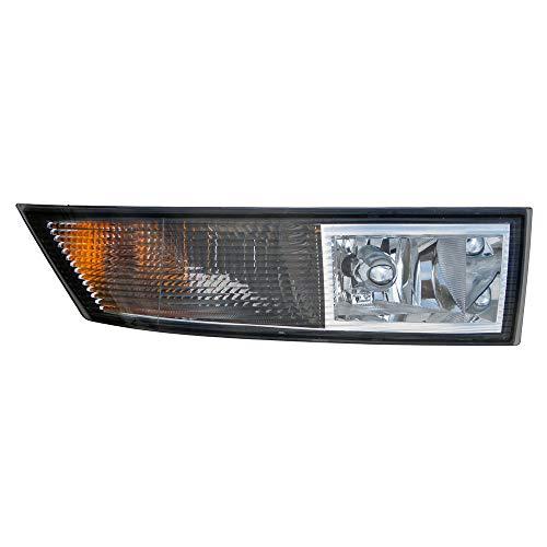 For 2007 2008 2009 2010 2011 2012 2013 2014 Cadillac Escalade/Hybrid/Esv/Est | Chevrolet Chevy Tahoe/Suburban/Avalanche | Gmc Yukon Fog Lamp Light Passenger Side Replacement