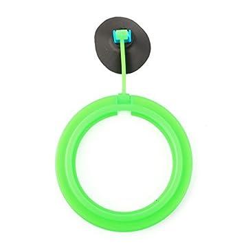 eDealMax acuario pecera Montaje de ventosa flotante Alimentación La alimentación de la herramienta del anillo del
