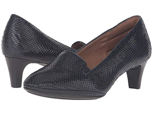 Comfortiva Womens Tilly Closed Toe Classic Pumps, Peacoat Navy, Size 8.0