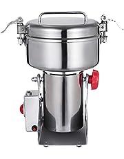 VEVOR elektrische graanmolen 2.2 LBS graanmolenmolen 2800W poedermachine Korenmolenmolen Elektrische graanmolenmolen voor kruidenverstuiver Food Grade roestvrijstalen slijpmachine voor graan