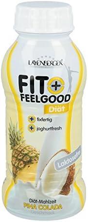 LAYENBERGER Fit+Feelg.fixfer.Diät-Shake Pina Co. 312 ml Flüssigkeit