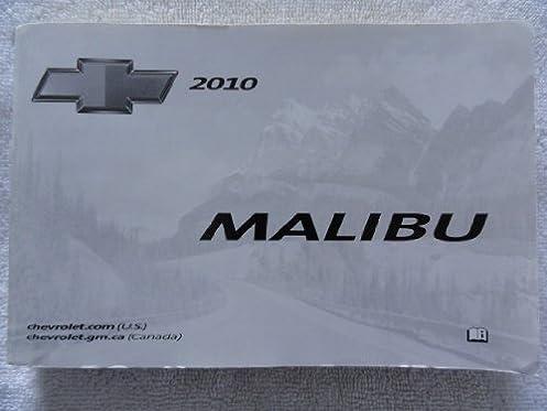 2010 chevrolet malibu owners manual chevrolet amazon com books rh amazon com 2010 chevrolet malibu repair manual 2009 Chevrolet Malibu