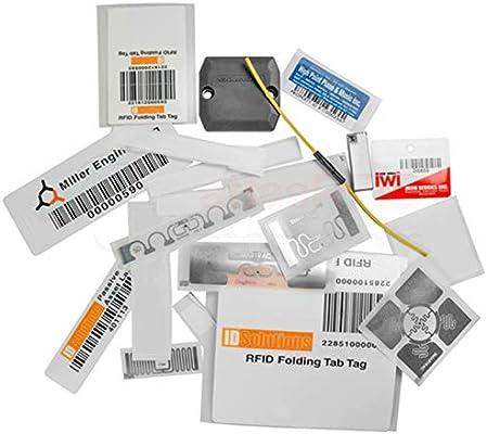 Black 10Pcs Etiquetas RFID Etiquetas de patrullaje con Capacidad de Almacenamiento s/úper Grande para el Sistema de Punto de Control de la Visita del Guardia