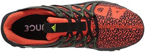 Adidas Vigor Rimbalzo Scarpe Da Uomo Trail Running Energia / Nero / Semi Giallo Solare