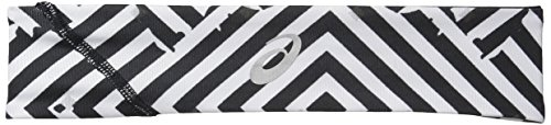 ASICS Lite-Show Twisted Headband, Maze Print, One Size
