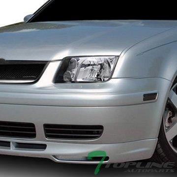 Crystal Black Clear Head Lights Lamps Signal+Fog Dy Vw Jetta Bora Mk4 Mk4 (Mk4 Jetta Headlights Bulb compare prices)