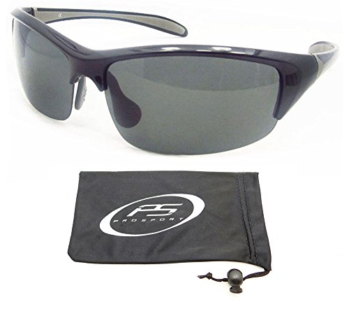 Polarized Sunglasses with premium TAC Polarized lenses and ultra light half frames. Fits Asian Faces. Free Microfiber Cleaning Case - Faces Asian Glasses For