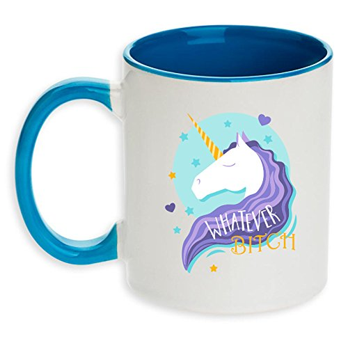 WHATEVER Unicorn Coffee Optional Personalized product image