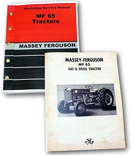 135 Massey Ferguson Tractor Technical Service Shop Repair Manual MF135 MF