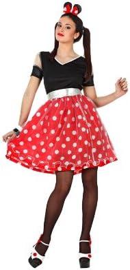 Atosa - Disfraz de Minnie Mouse para mujer, talla M/L (96836 ...