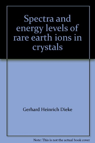 Spectra And Energy Levels Of Rare Earth Ions In Crystals