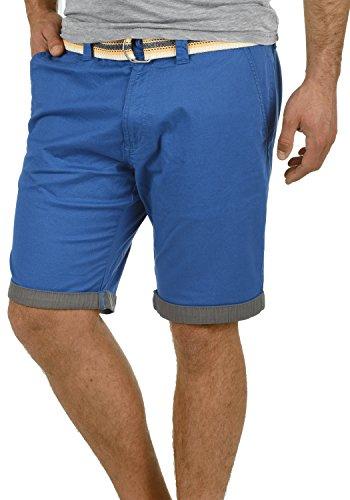 Pantalones Hombre Regular Lagos Para Limoges Con Cinturón Tela De Corto Elástico Chino 1839 Bermuda solid fit Pantalón nXzwxAUOnq