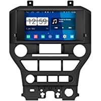 Rupse For 2015 2016 Ford Mustang Without Factory Nav. 8 inch HD Android Car GPS Navigation Stereo With BT Music/Hands-free/SWC/HD/