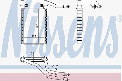 NISSENS 73991 Heating Nissens A/S