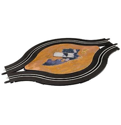 Carrera - GO 143: pistas de un carril - rotonda, 8 piezas, escala