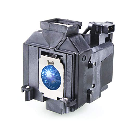 6010 Projector - Huaute V13H010L69 / ELPLP69 Replacement Projector Lamp with Housing for Epson Elplp69 PowerLite Home Cinema 5020ub 5030ub 5025ub 5020ube 5030ube 5010E Pro Cinema 6030ub 6020UB 6010 4030 Projectors