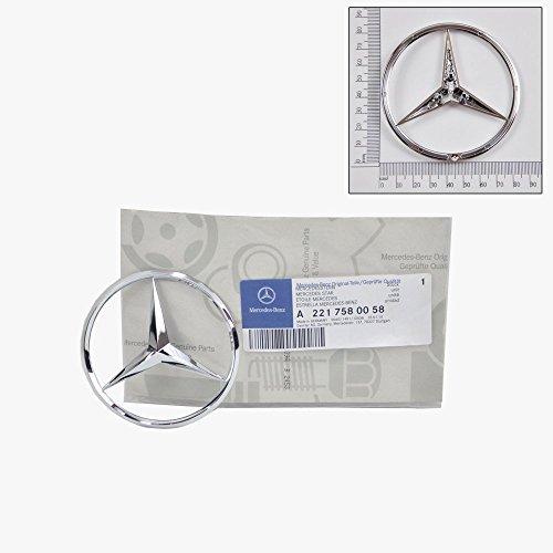 Trunk Star Emblem - Mercedes-Benz Trunk Lid Emblem Star Badge Genuine Original 2210058