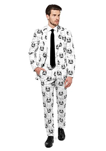 Opposuits Star Wars Suit of-Official Stormtrooper Costume