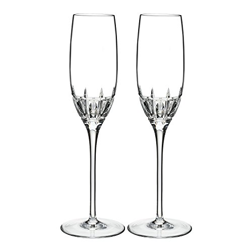 Marquis By Waterford, HARPER FLUTE 7 OZ, SET of 2 Clear 7 Ounce Flute