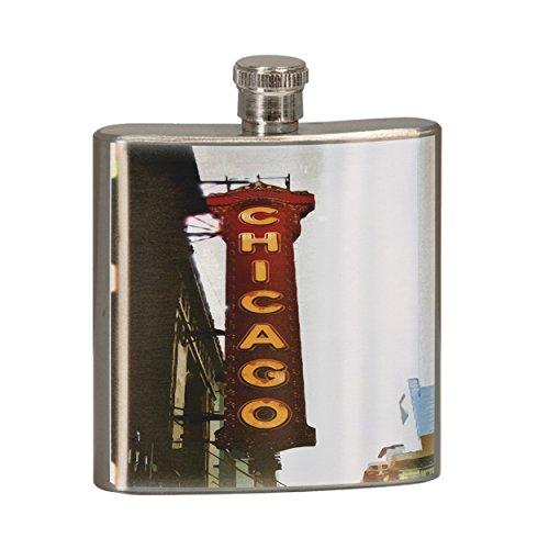 BMC 6 oz. Stainless Steel Flask - Chicago ()