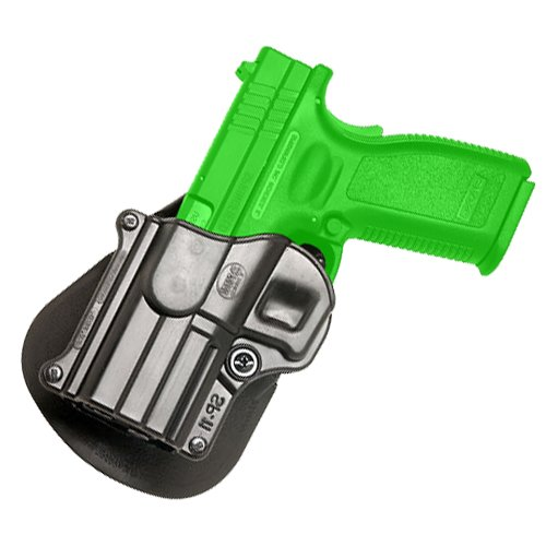 (Fobus Roto Holster Paddle Left Hand SP11RPL Springfield Armory XD/XDM / HS 2000 9/357/40 5