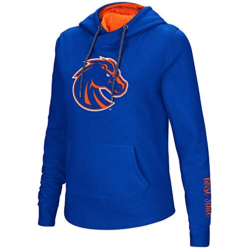 (Colosseum Womens Boise State Broncos Pull-Over Hoodie - S )