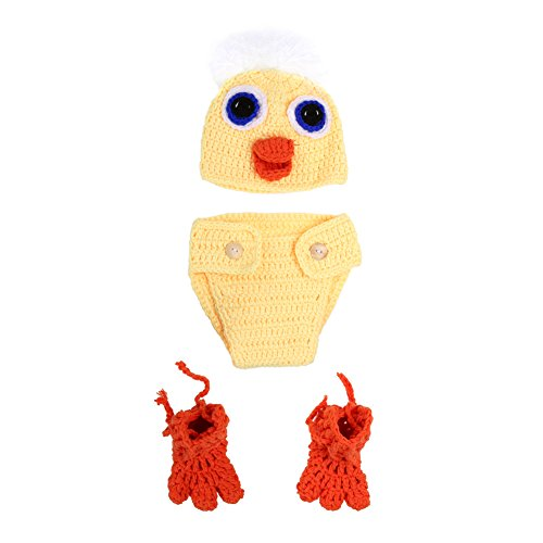 Chinatera Baby Boy Girl Duckling Photography Props Hat Pa...