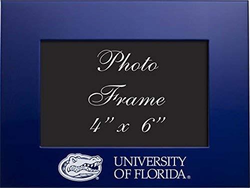 (LXG, Inc. University of Florida - 4x6 Brushed Metal Picture Frame - Blue)