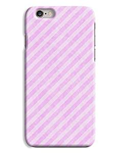 Diagonal Pink Pins iPhone 6 Plus Hard Case Cover