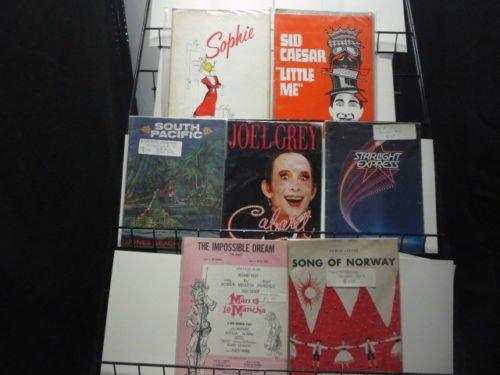 Broadway Musical Souvenir Program Book Lot of 7 from 60's + 70's Bob Fosse Joel Grey