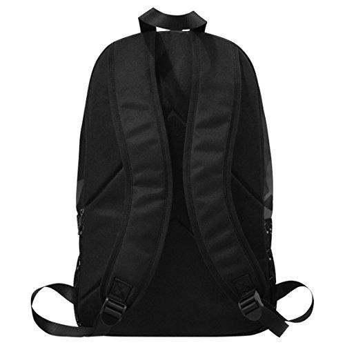 InterestPrint Custom Music Note Love Heart Casual Backpack School Bag Travel Daypack by InterestPrint (Image #4)