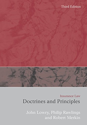 Download Insurance Law: Doctrines and Principles Pdf
