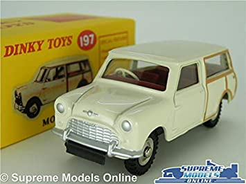 Supreme Models Dinky Toys Morris Mini Traveller Model Car 143 Scale