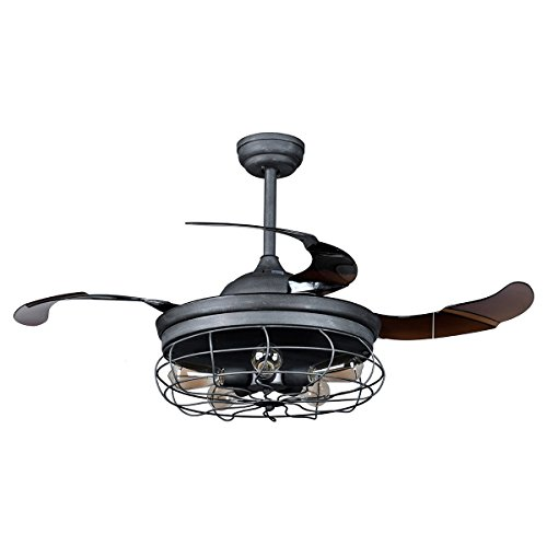 vintage looking ceiling fan - 2