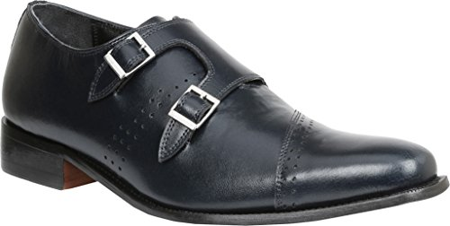Giorgio Brutini Mens Carbonne Slip-on Mocassino Blu Scuro