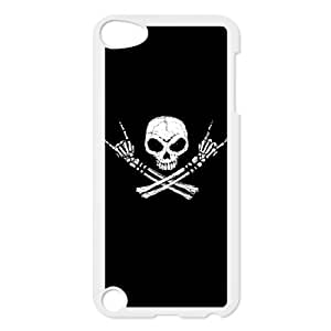 Ipod Touch 5 Phone Case for Classic Theme RED SKULL pattern design GCTRSL993957
