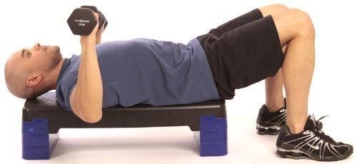 Fitness Republic Neoprene Dumbbell 5 Pairs Set (3lb,5lb,8lb,10lb & 12lb)
