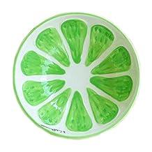 Creative Ceramic Fruit Tableware Cute Home Decorative Bowl (Lime)