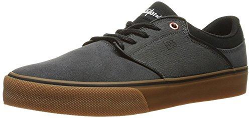 DC Mens Mikey Taylor Vulc Mikey Taylor Signature Skate Shoe, Gris/Negro, 38.5 D(M) EU/5.5 D(M) UK