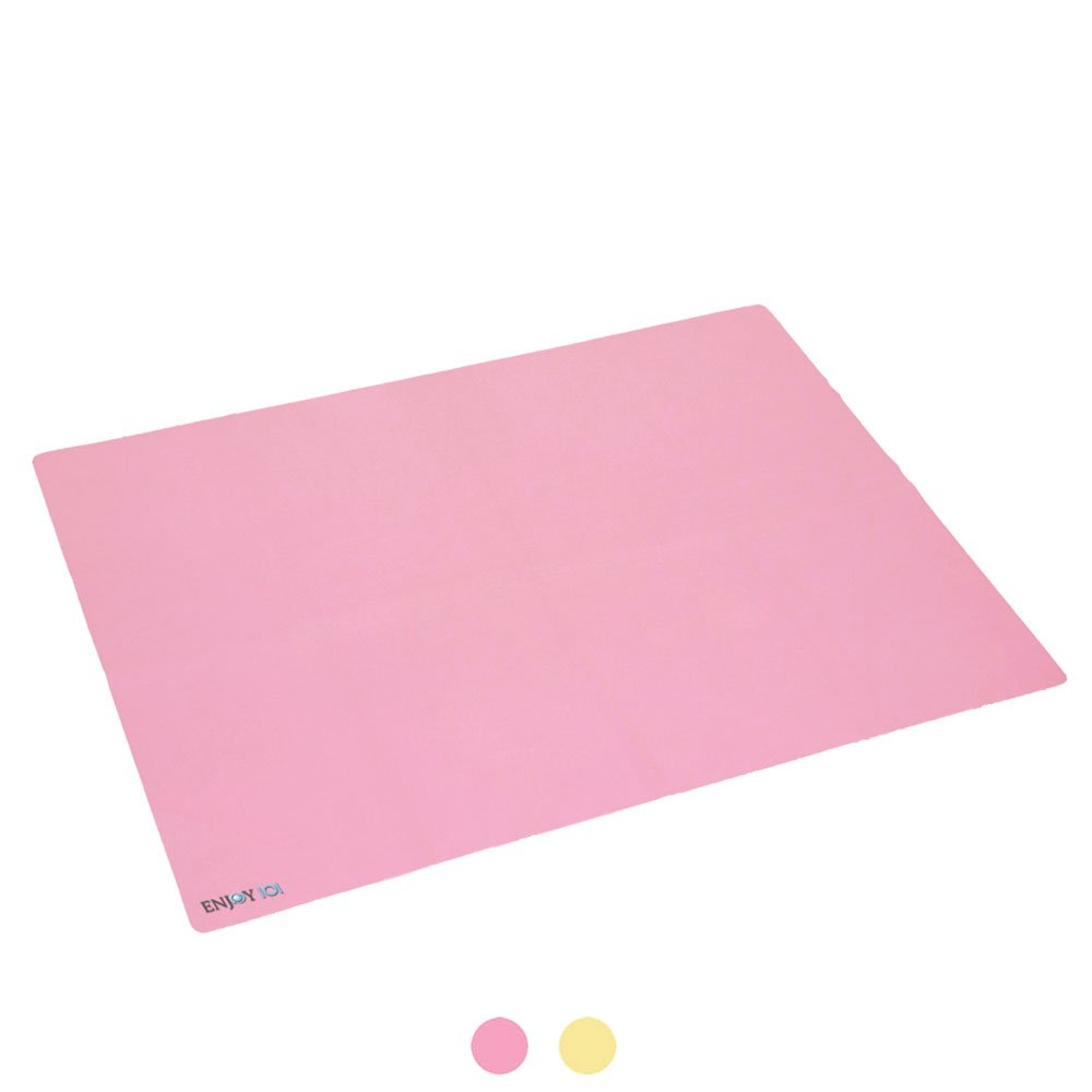 ENJOY IOI Infant Waterproof Urine Mat Cover Burp Changing Pad Protector Breathable for Baby Boys Girls 23.62'' x 35.43'' (pink)