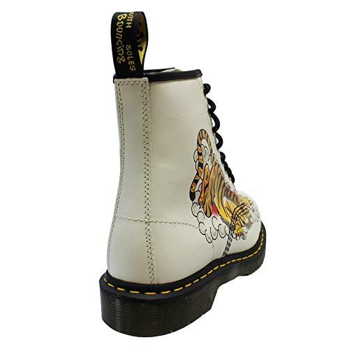 Martens Boots Womens eyelet Usa Dr 8 Grez 1460 Leather 1znzBTW