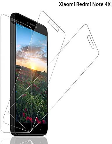 SNUNGPHIR® Cristal Templado Xiaomi Redmi Note 4X [3-Pack ...