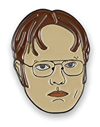 Dwight Schrute Rainn Wilson Enamel Lapel Pin (1 Pin)