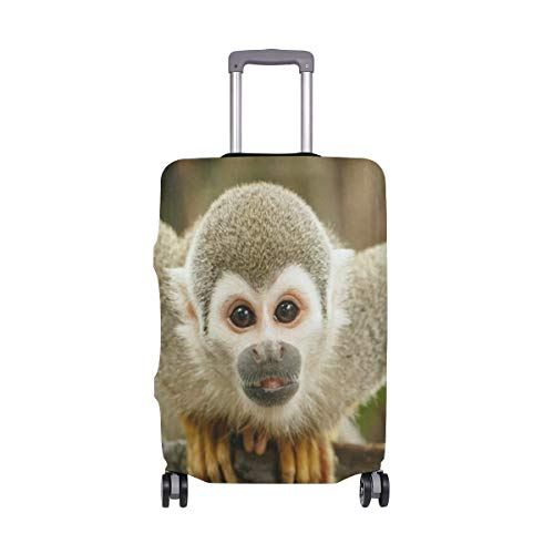 rel Monkey Luggage Cover Travel Case Bag Protector for Kid Girls ()