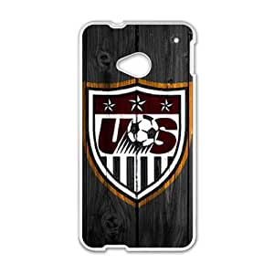 Happy Usa Soccer Cell Phone Case for HTC One M7