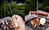 Firebuggz - Fire Fishing Pole Family Fun Set Hot Dog Marshmallow Roasters
